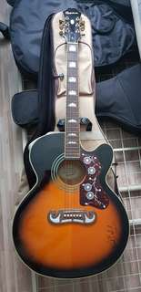 Epiphone EJ200CE signed by Paul Baloche