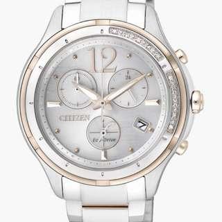CITIZEN L系列 鑽石腕錶 FB1375-57A (超值)