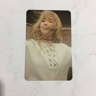 Taeyeon小卡