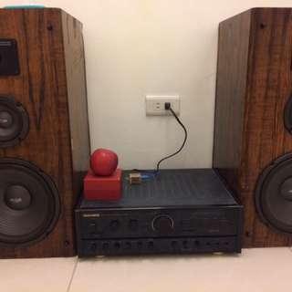 2 Speaker + amply