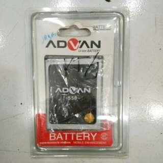Baterai Advan S50 original