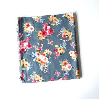 BN Cotton Fabric in Romantic Blue Florals
