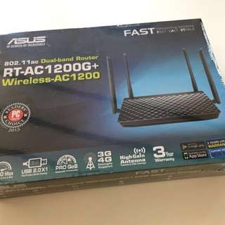 ASUS ROUTER RT-AC1200G+ (BRAND NEW SEALED)