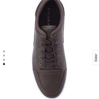 Zalora Essential Faux Leather Sneakers