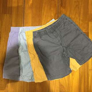 Uniqlo短褲(四件一組)
