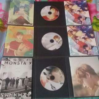 URGENT SALE [MONSTA X THE CODE ALBUM]