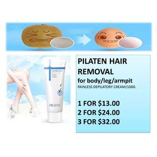 PILATEN HAIR REMOVER - 1 tube (100 gram)
