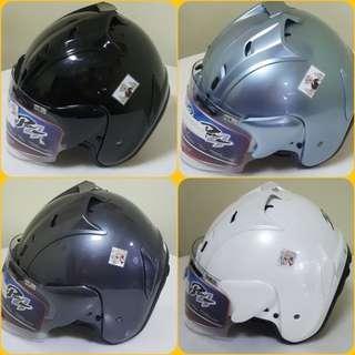 2301--- TSR RAM4 Helmet Black with Dark Tinted Visor CONVERT TO ARAI 🦀 For SALE, Yamaha Jupiter, Spark, Sniper,, Honda, SUZUKI