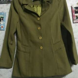 Blazer import warna hijau