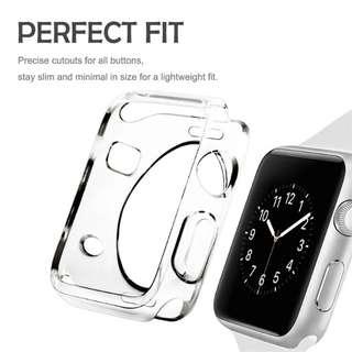 HD Case - Apple iwatch clear case by Jansin