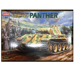 1/25th Motorized WW2 German Panther Tank (Made in Korea)