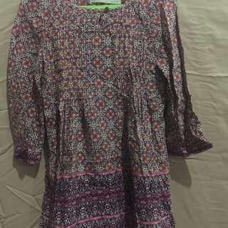 Dress zara asli (3-4y)