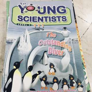 Young Scientists assorted books. Amount(11).$1 each