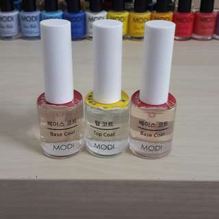 Nail Polish - Base & Top Coat