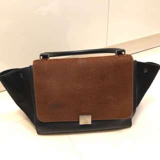 Celine trapeze medium 馬毛