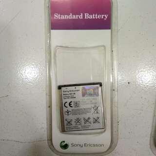 Baterai Sony ericsson