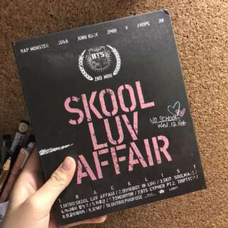 BTS SKOOL LUV AFFAIR (jungkook pc )