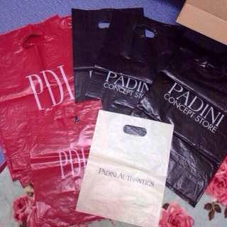 padini PDI plastic bags