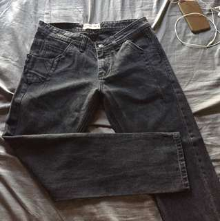 Repriced Penshoppe Black Carrot Fit Size 30 Pants