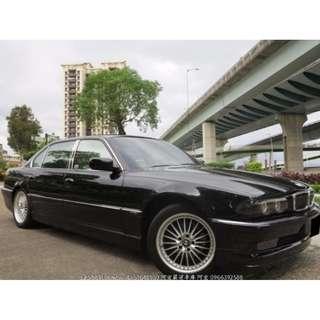 BMW735 恆溫空調 安全氣囊 八向電動座椅 多功能方向盤 一手車原漆
