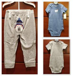 Carter's 3pc Polar Bear set