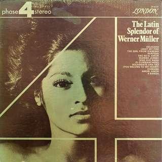 vinyl LP, Werner Miller