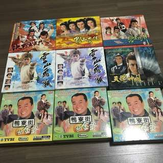 CNY Special - TVB Drama VCD ( All for $25)