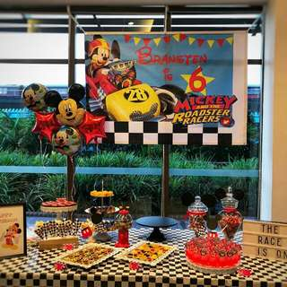 Dessert Table - Mickey & The Roadster Racers