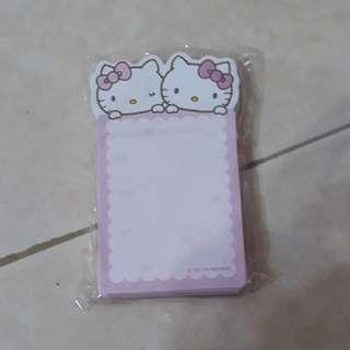 Hello Kitty note pad