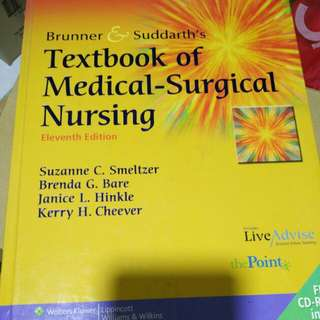 Text book of medical surgical nursing