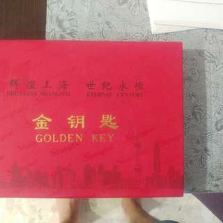 Shanghai collectable-golden key