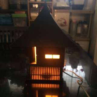 House-Shaped Table Lamp