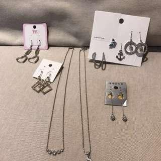 🚚 耳環、項鍊