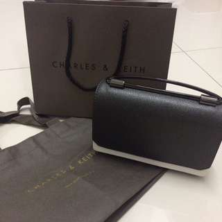 Authentic Brand New Charles & Keith Sling dinner bag