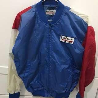 Nice blue and red vintage baseball jacket