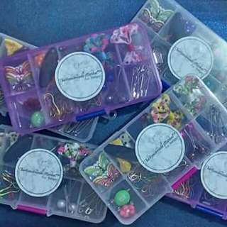 Handmade Hijab Pins & Brooch In A Box