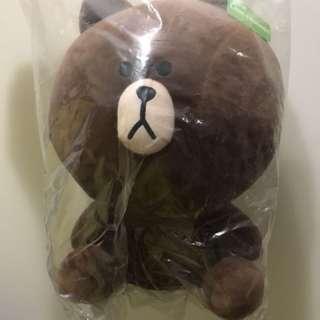 Line熊大娃娃🐻