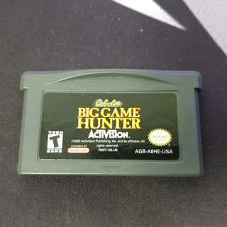 Big Game Hunter for Gameboy Advance, Gameboy Advance SP