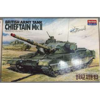 1/25th British Chieftain Tank (Made in Korea)