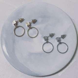 ✨Marion Mini Circle Drop Earrings
