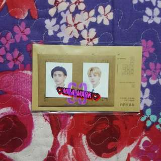 JIMIN & TAEHYUNG SG 2018 ID PHOTO