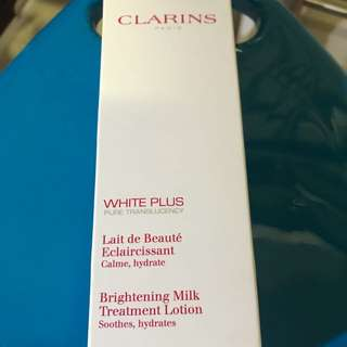 Clarins Brightening Milk Treatment Lotion