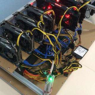 GPU Mining Rig 190Mhz 6x GPU