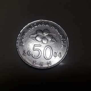 syiling 50 sen 2004