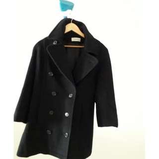 CALVIN KLEIN Winter jacket NAVY BLUE colour