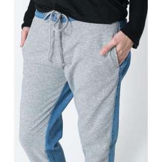 zara denim jogger jeans