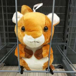 🍊💞CNY 50%TIME SALE!! 🐶(U.P: $20) BRAND NEW!!!  KAWAII CUTE & SILKY SOFT SQUIRREL TOY!!! BRING ME HOME, SET ME FREE PLEASE!!  BAIL ME OUT AT $10 PLEASE,  I PROMISE I WILL NEVER STEAL THE NUTS AGAIN!!! ONLY 1!! HURRY!! GRAB BEFORE ITS GONE!!
