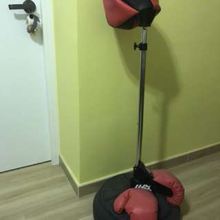 Punch bag stand