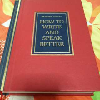 How to write and speak better Reader's Digest