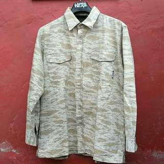 Flannel camo / camouflage shirt / flannel army